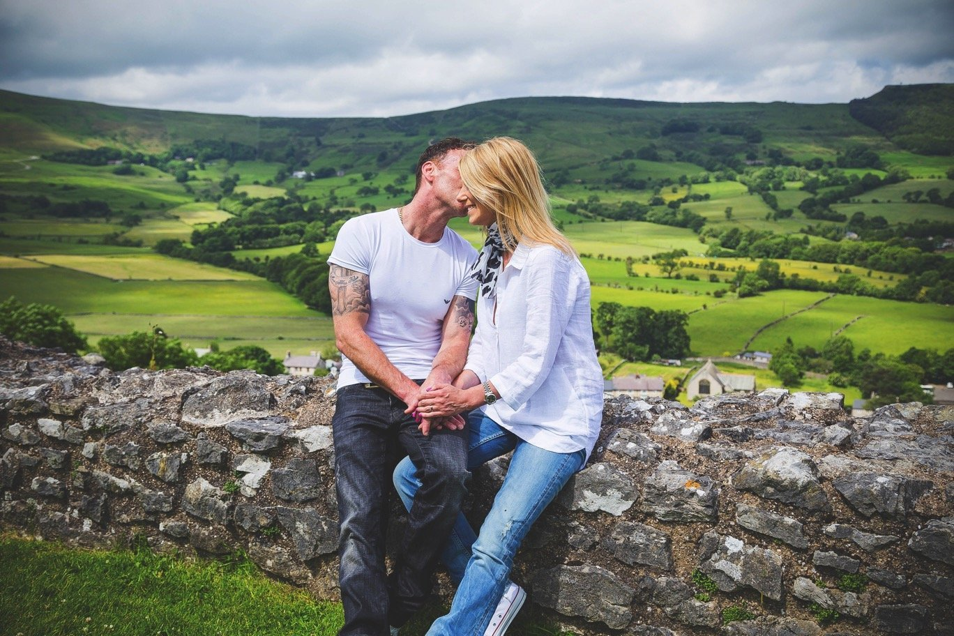 Derbyshire Peak District Engagement Shoot – Calum & Mel