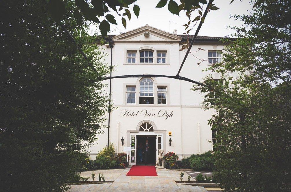 Hotel Van Dyk Wedding, Chesterfield
