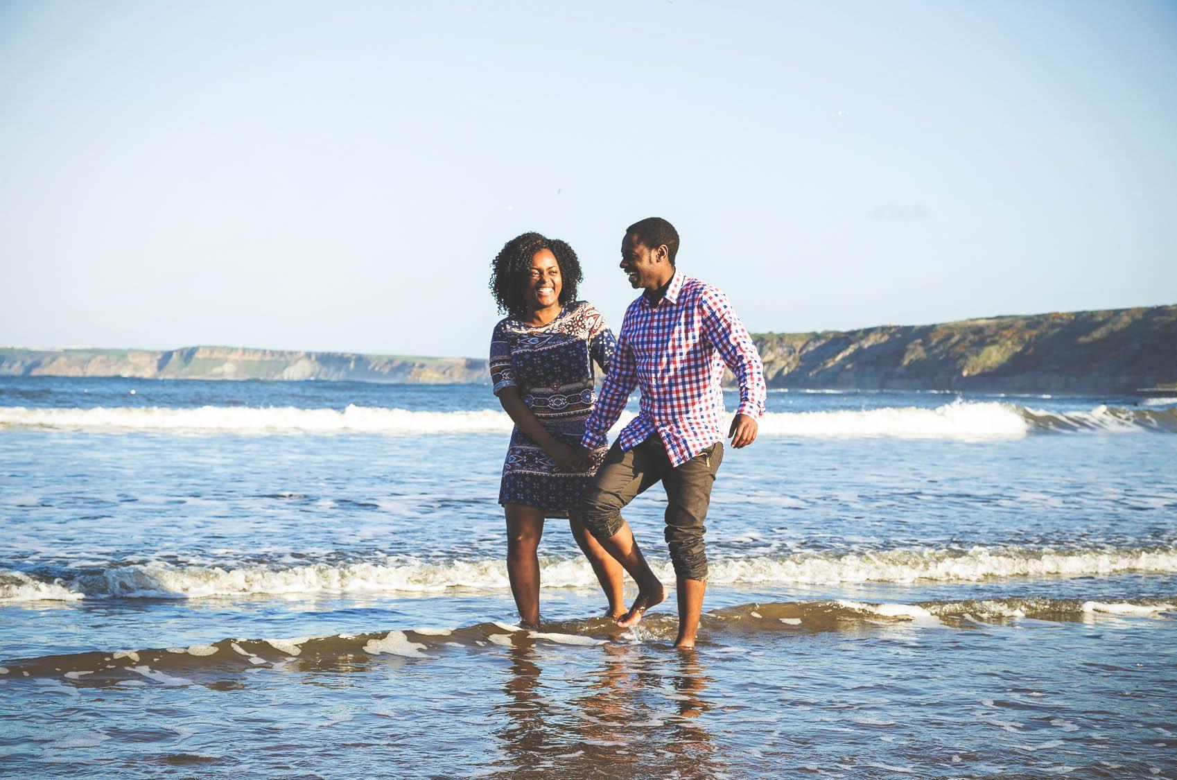 Scarborough Pre-wedding Shoot – Josh & Towela