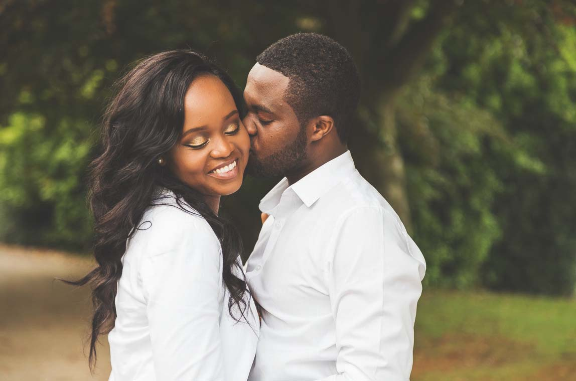 Sheffield Botanical Gardens pre wedding shoot by Nathan M Photography - 1