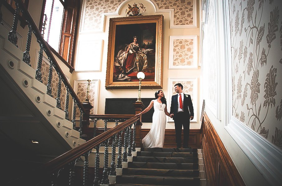 huddersfield town hall wedding by Nathan M Photography