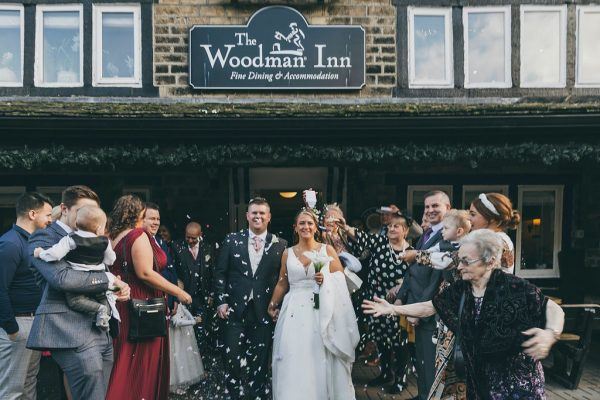 Woodman Inn Thunderbridge, Huddersfield Wedding – Oliver And Skye
