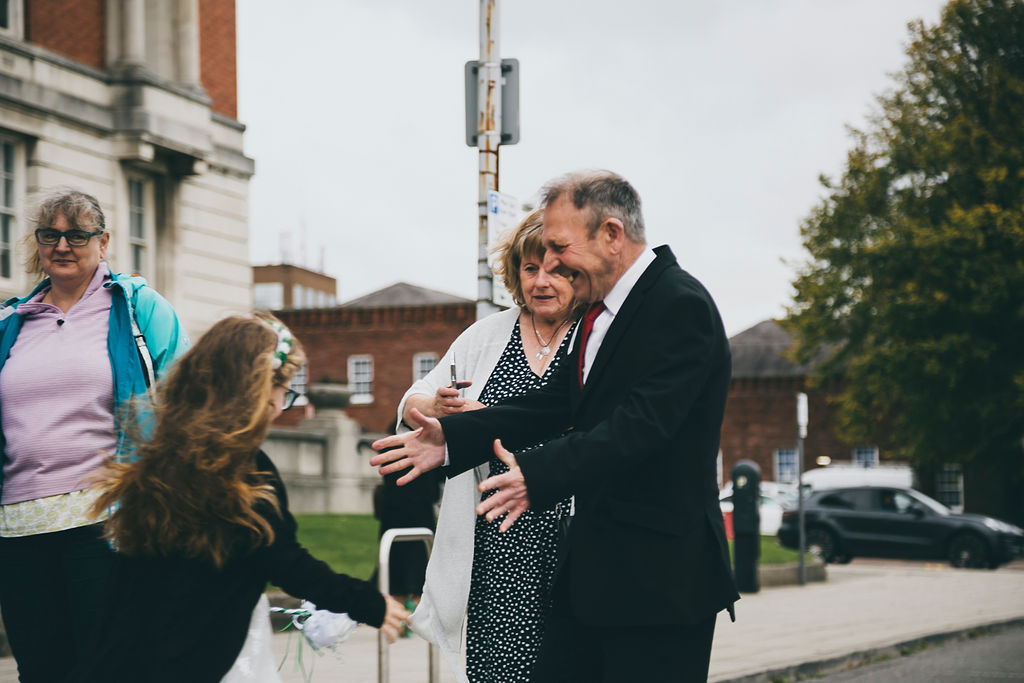 Chesterfield Registry Office Wedding – Tracey & James